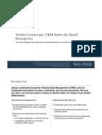 INFO TECH VL CRM Suites for Small Enterprises 2013
