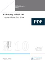 10 k Hler - Autonomy and the Self