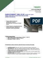 01-Fisa Tehnica CEM I 52 5R