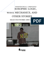 Neutrosophic Logic, Wave Mechanics, and Other Stories, by Florentin Smarandache, V. Christianto