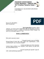 Vara de Execuções Penais - Busca apreensão - José Cassiano R