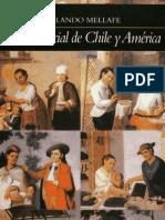 Rolando Mellafe Historia Social de Chile y America