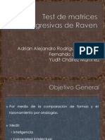 Diapositivas. Test de Matrices Progresivas de Raven