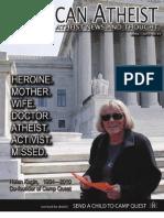 American Atheist Magazine April 2010