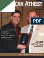 American Atheist Magazine June 2010