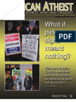 American Atheist Magazine July/August 2010
