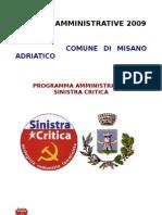 ELEZIONI  AMMINISTRATIVE SC 2009