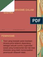 FEMINISME DALAM SASTRA