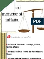 Echilibrul Monetar Si Infaltie