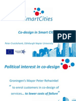 18 - Peter Cruickshank - Smart Cities - CoDesign
