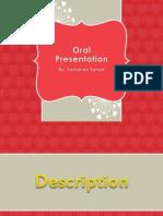 Oral Presentation LGA 3102