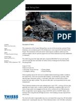 Namuk Tailing Dam Thiess Contractor