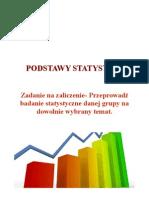 Zadanie Statystyka