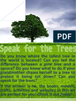 3rd-5th grade kit speak for the trees