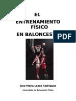 El Entrenamiento Fisico en Baloncesto