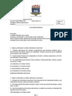 PROVA 1 N1 Gabarito