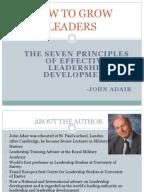 Building Leadership Capacity in Early Childhood Pre Service Teachers