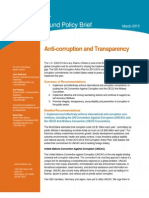 2013 G20 Anti-Corruption and Transparency Background Policy Brief