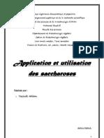 Application Saccharose