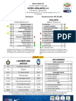 Inter Atalanta PostPartita