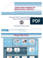 network-based Target Ranking for Polypharmacological Therapies