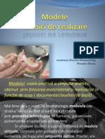 modele tehnici de realizare în ortopedia stomatologică