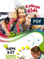 NMC College for Kids Catalog - Summer 2013