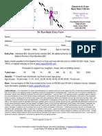 Legacy Run Registration Form 2013