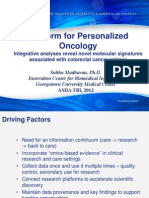 Platform for Personalized Oncology