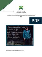 PATOLOGIA E EFEITOS PSICOSSOCIAIS DECORRENTES DA HOSPITALIZAÇÃO DA PESSOA IDOSA
