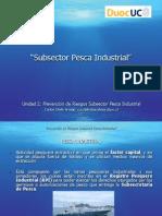 Unidad 2 Subsector Pesca Industrial