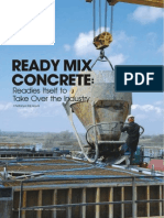 Article on 'Indian Ready Mix Concerete Industry' by Chaitanya Raj Goyal