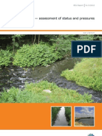 Eea European Waters - Assessment of Status and Pressures 2012