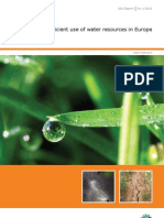 Eea Towards Efficient Use of Water Resources 2011