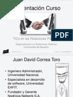 Presentación del curso TICsRPv2