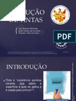 PRODUÇÃO DE TINTAS