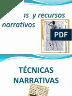 TECNICAS NARRATIVAS-