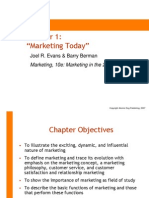 Chapter 01 Evans,Berman, Marketing
