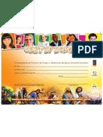 Certificado Ano Biblico Ilustrado