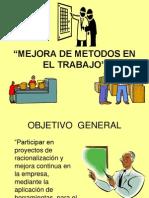 Mejora de Metodos en El Trabajo Complemento Senati 2012