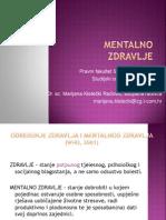 1 PP Mentalno Zdravlje