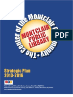 Montclair Public Library Strategic Plan 2013-2016