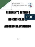 Regimento Interno CMS CAN 2013