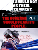 government websites and their affect on people
