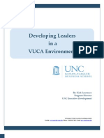 Developing Leaders in a VUCA Environment