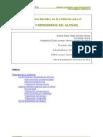 Tratamientos Basados en La Evidencia - Abuso Alcohol
