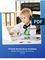 Trinity Homeschool Academy Small Business Directory