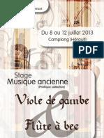 Stage La rêveuse