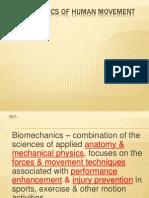 Biomechanis of Human Movement (2)
