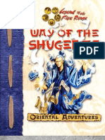 Oriental Adventures - Way of the Shugenja